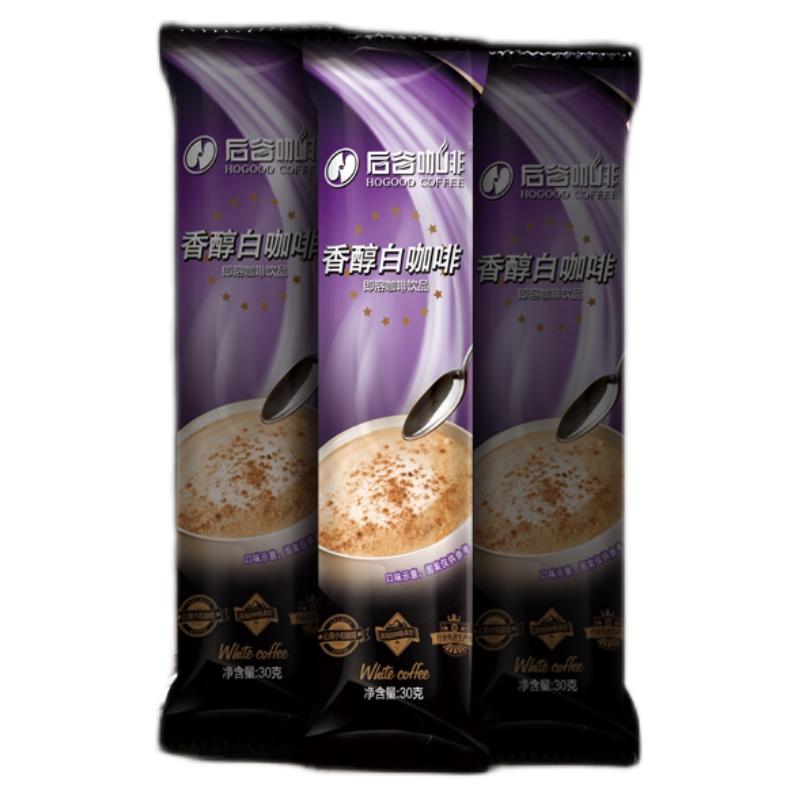 后谷咖啡 奶香白咖啡原味咖啡速溶三合一咖啡粉 云南小粒咖啡