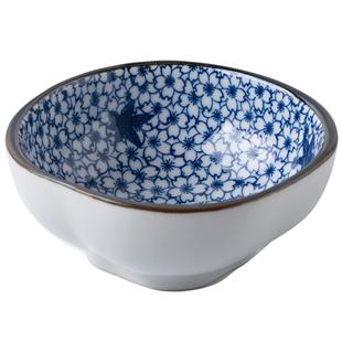 日式沾陶瓷创意螺纹系列咸菜小菜碟