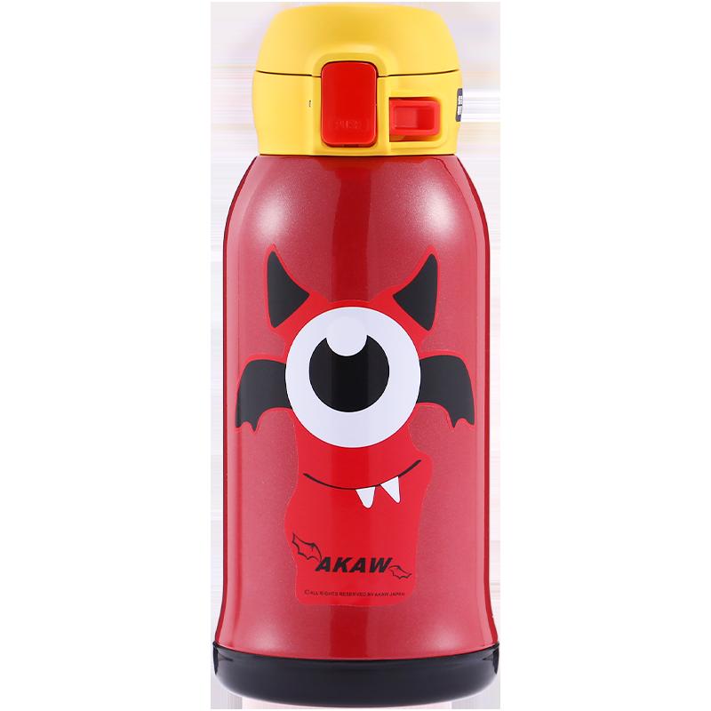 日本AKAW爱家屋儿童保温杯进口不锈钢