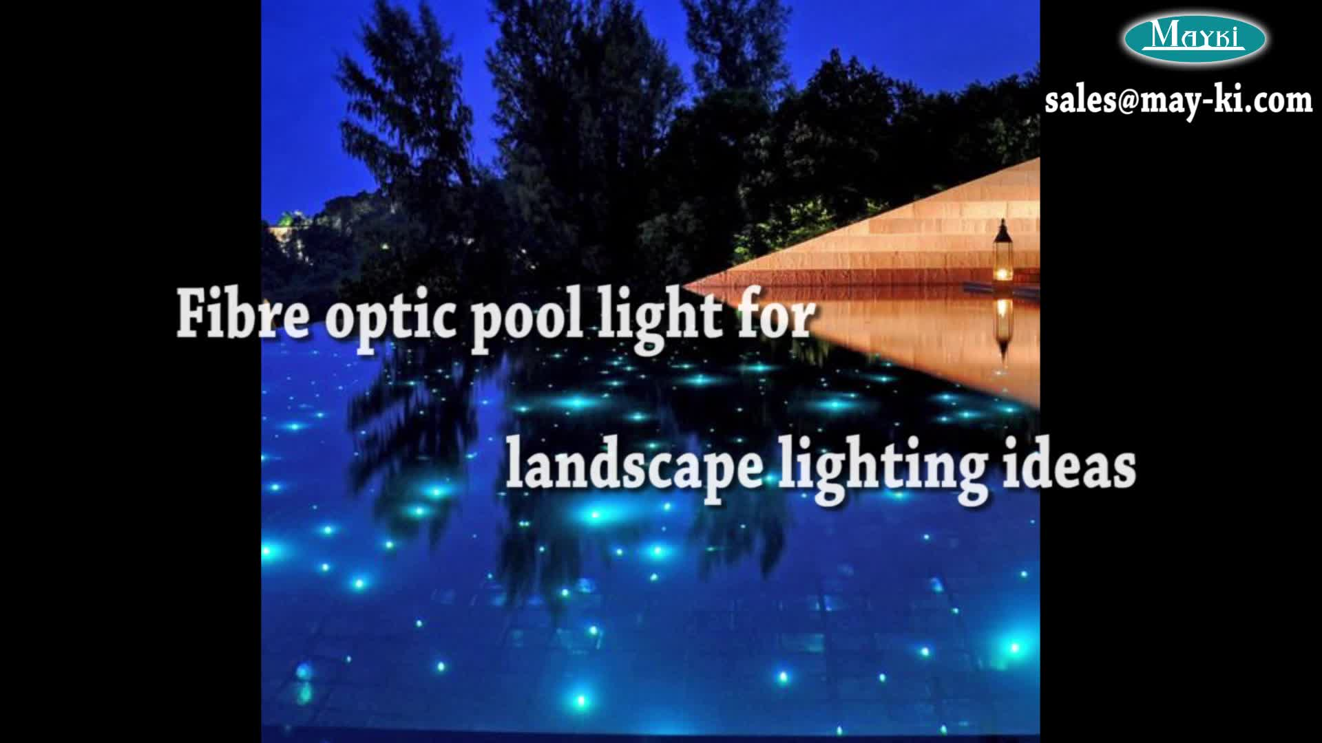 High Quality Swimming Pool Astral Underwater Light With Multi Strand Fiber  Optic Cable And Light Source - Buy Swimming Pool Astral Underwater