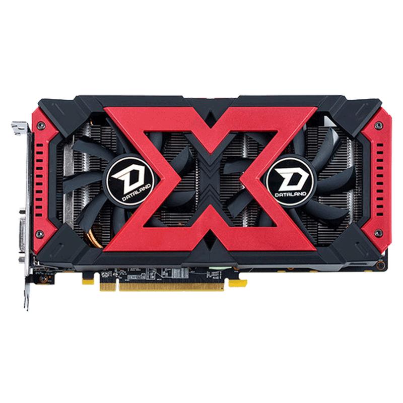迪兰恒进RX580 4G/8G 2048SP X-Serial战将 电脑游戏独立显卡