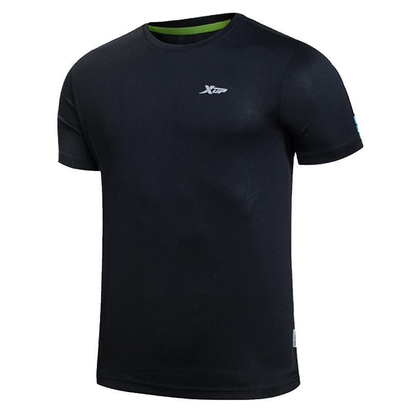 特步短袖T恤男夏季透气速干衣官网运动男装半袖男士官方正品上衣