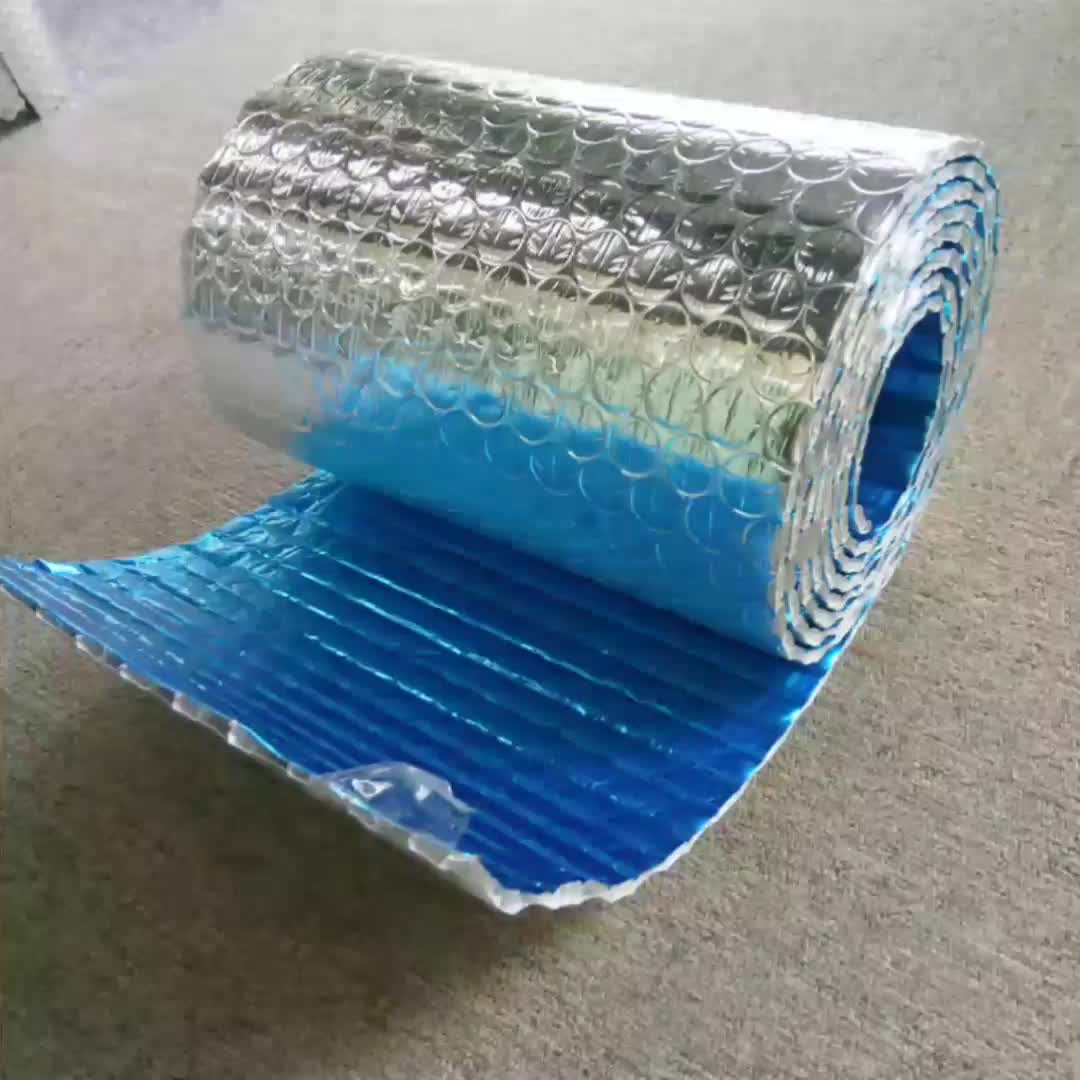 Sun Reflective Aluminum Foil Bubble Thermal Insulation For