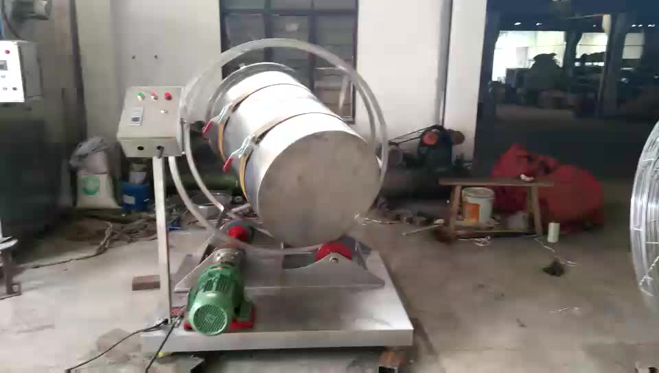 barrel type mix machine rotating drum mixing machine for food chemical pharmaceutical powder