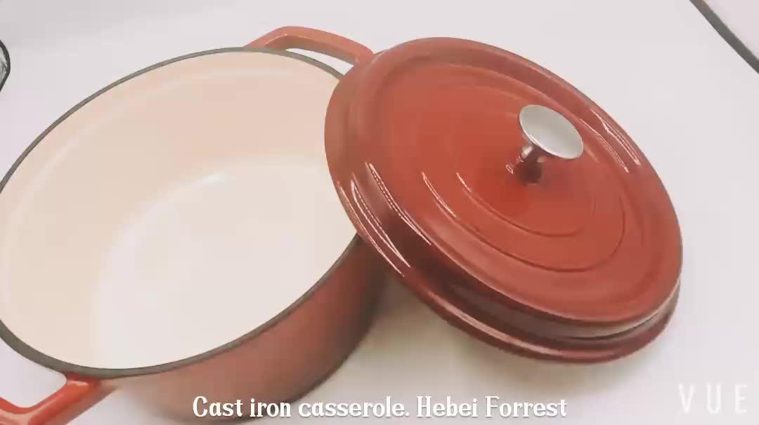 鋳鉄調理器具エナメル鋳鉄キャセロール皿
