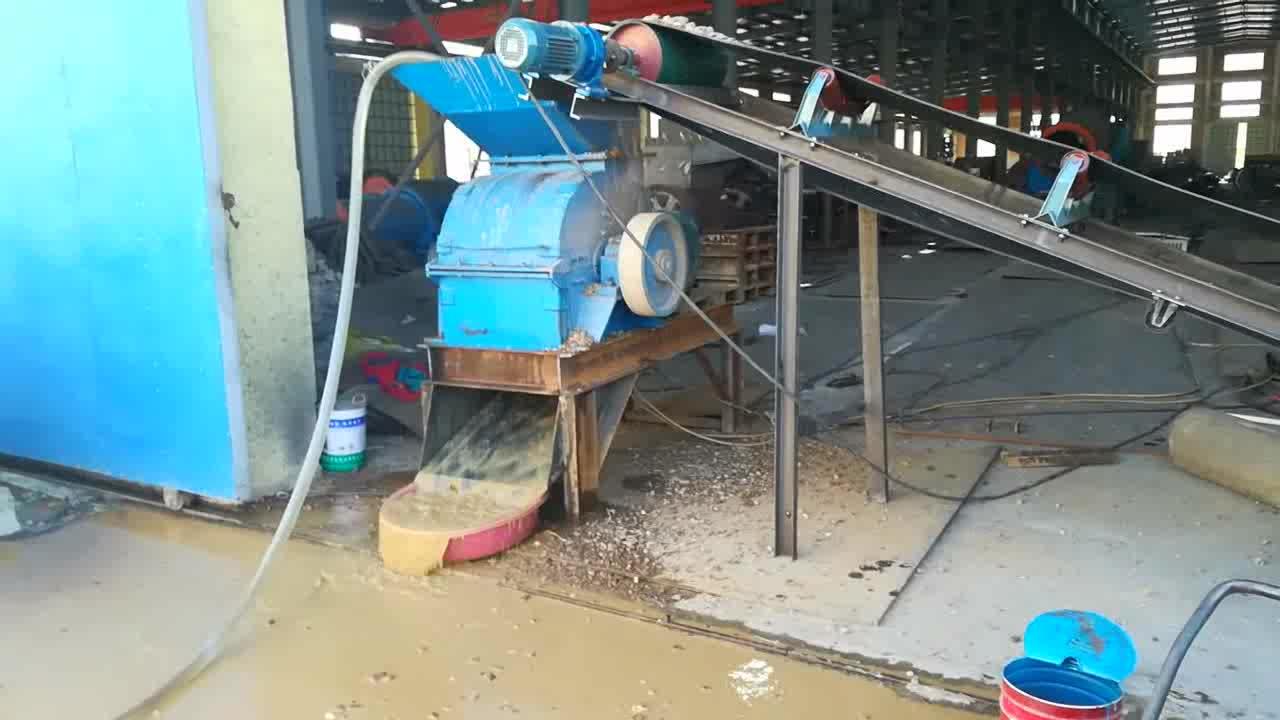 Máquina do triturador de pedra portátil, moinho de martelo para a planta de mineração de ouro