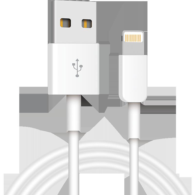 塔菲克6s数据线适用iPhone6手机5加长5s充电器线7Plus单头8x快充冲电se平板iphone6Plus电脑ipad短XS Max