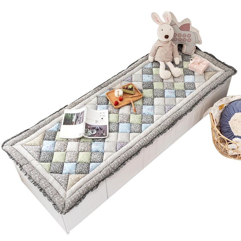韩式纯棉台垫防滑加厚卧室馒头垫质量怎么样