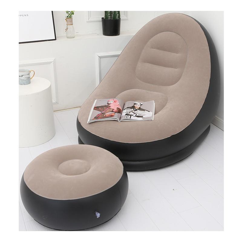 懒人沙发充气沙发单人沙发卧室小沙发简约榻榻米躺椅便携椅子