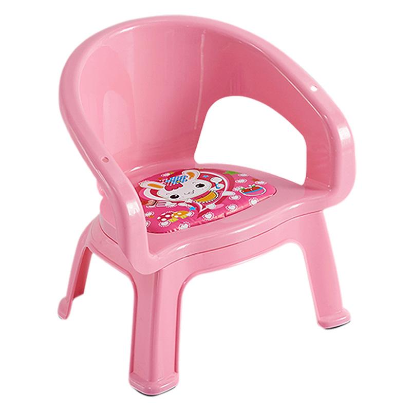 好尔幼儿园塑料儿童靠背椅宝宝凳性价比好不好