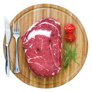 Fresh whole cut beef steak and beef steak (10 slices)