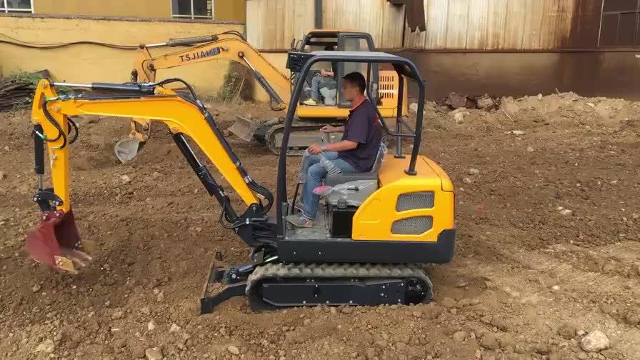 Salida de fábrica chino mini excavadora 2 ton 3 ton en venta