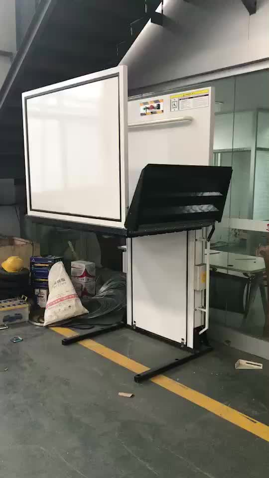 Electric Hydraulic Wheelchair Lift : Ce iso electric hydraulic disabled elevator lift