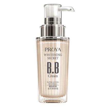 珀莱雅靓白肌密名模裸妆美白bb霜