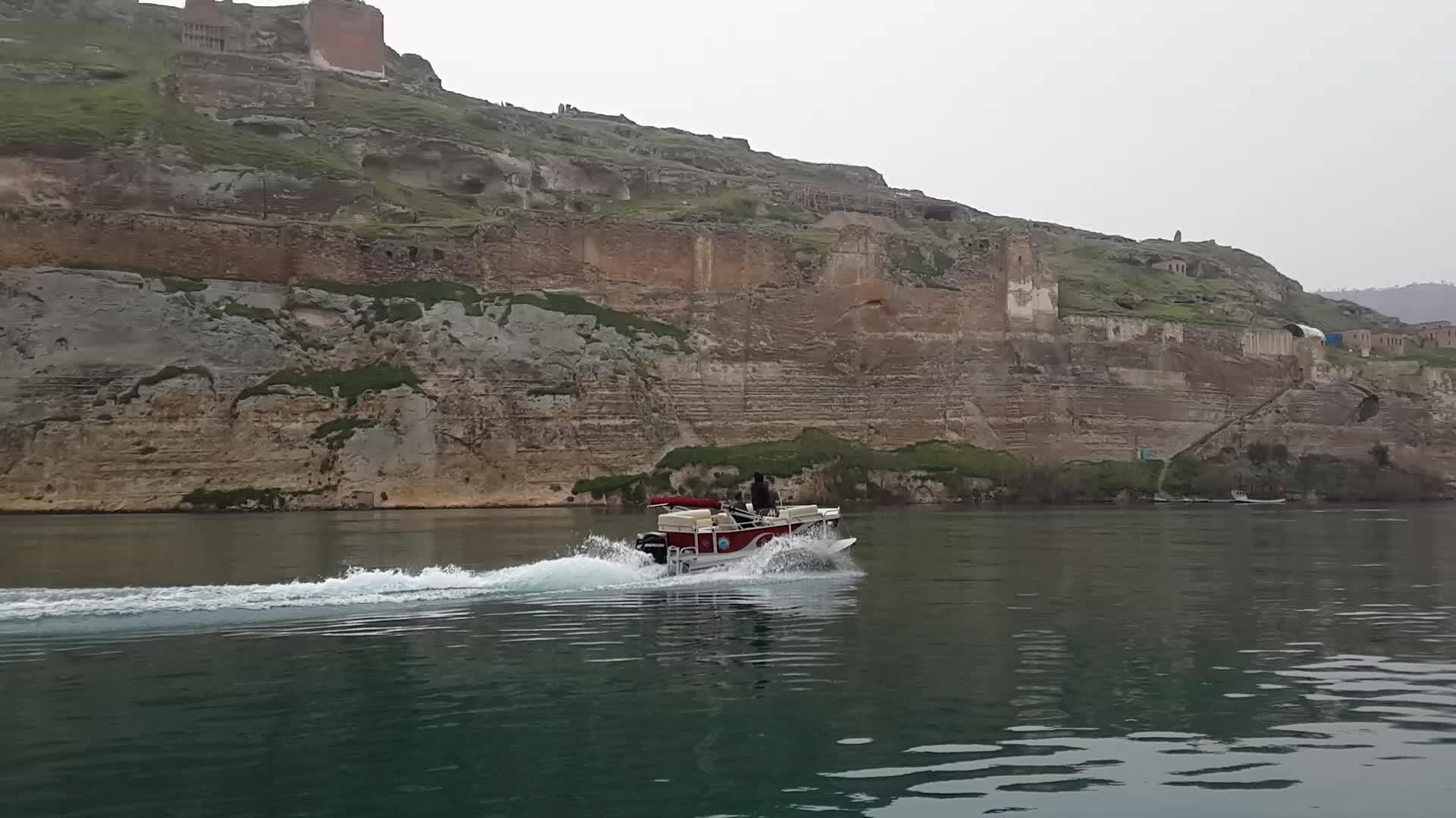 Barco de pasajeros catamarán, 8M, carrettapontoon, SC8-CP, proveedor de fábrica, fabricado en Turquía