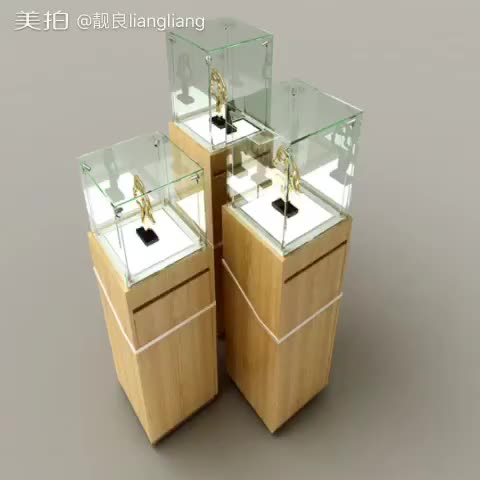 Jewelry Window Display Sets With Used Jewelry Display Cases For