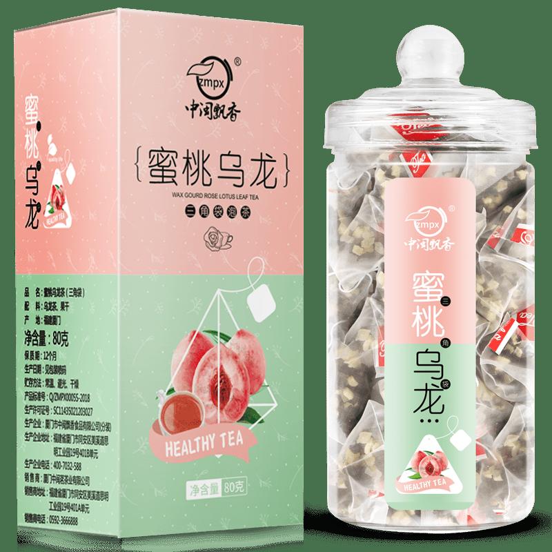 【中闽飘香】蜜桃乌龙茶绿茶20包