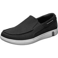 Skechers斯凯奇男士帆布鞋春夏季透气板鞋一脚蹬布鞋休闲鞋懒人鞋