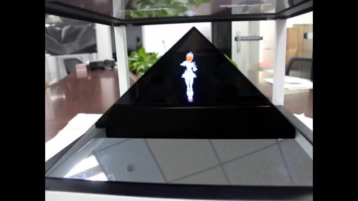 19-84 inç 3d hologram kutusu ile dokunmatik ekran reklam ekranı
