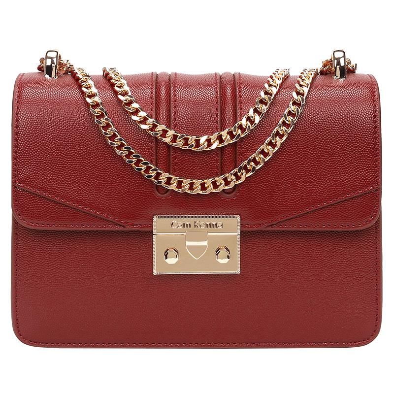 女包2019新款时尚小ck酒神包链条包单肩包网红小包包上新质感斜挎