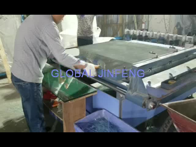 JFQG-2620 double bridge small manual glass cutting machine india price
