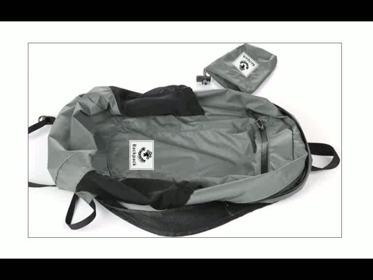 heißer verkaufender moderner faltbarer Rucksackreisetasche