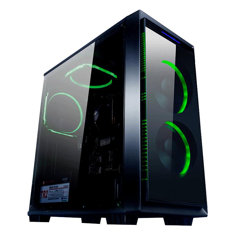 名龙堂甲龙 i5 8500升9400六核办公家用网吧游戏电脑主机台式DIY组装整机全套
