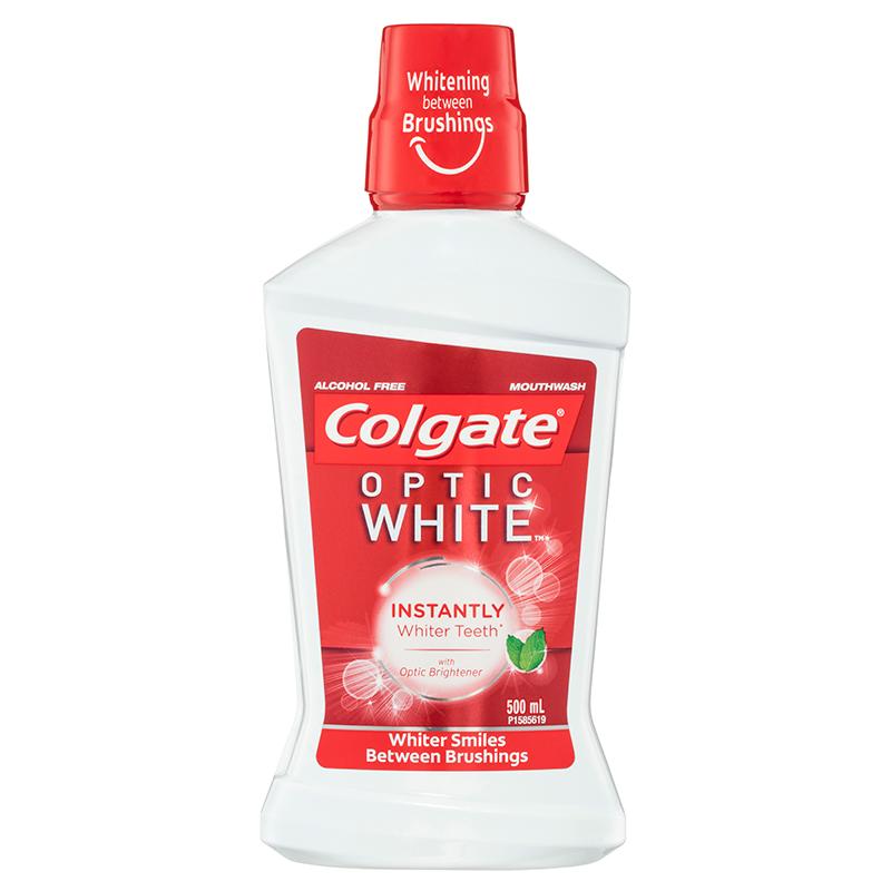 Colgate高露洁光感白美白漱口水