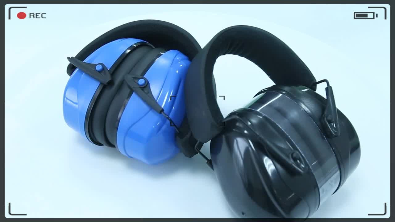 Color Logo Customized Sound Proof Foldable Ear Muffs
