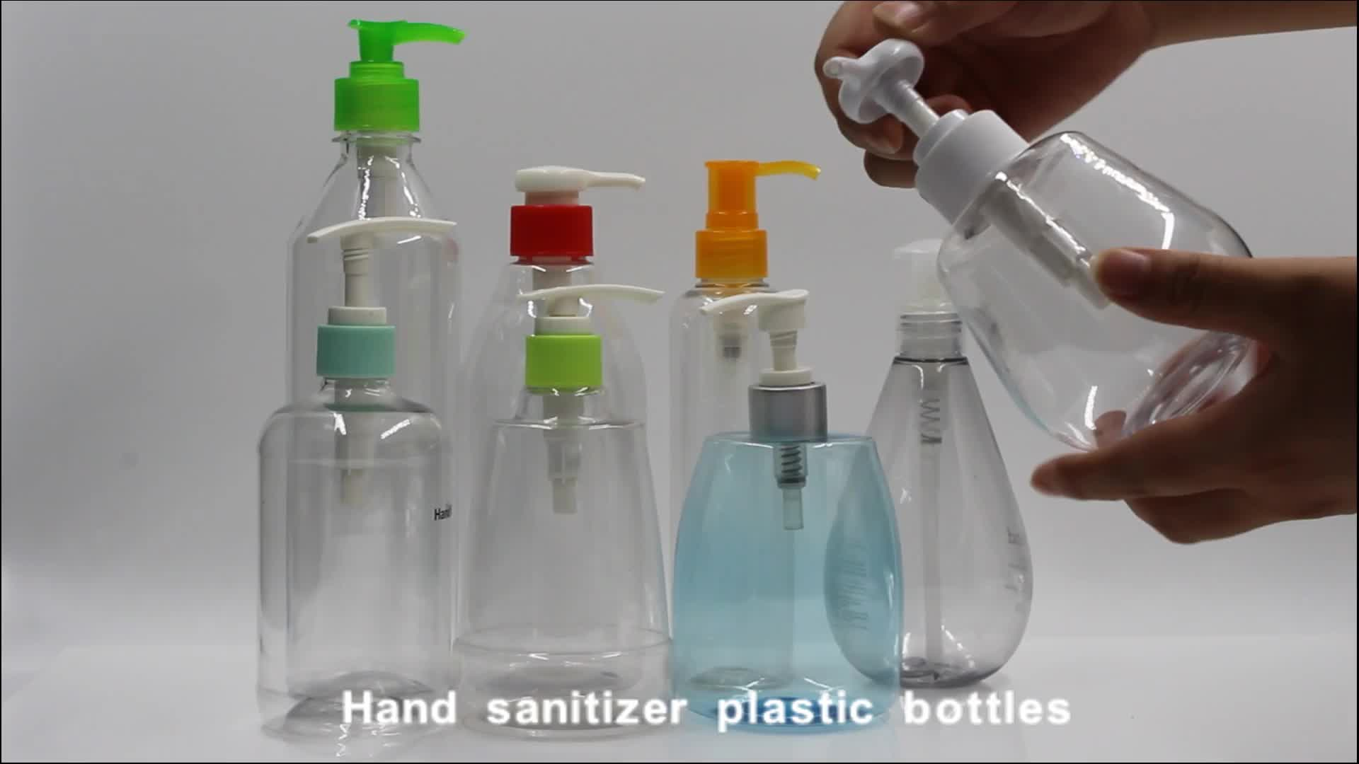 300ml leere PET Handwash Duschgel Körper Handwaschpumpe Plastikflasche