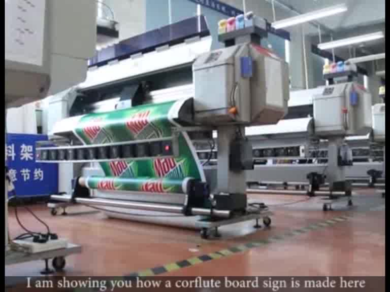 Sinal de alta qualidade da placa da espuma do PVC / KT, placas do sinal da propaganda exterior