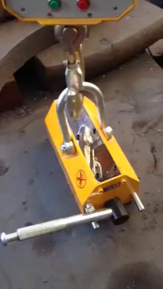 5000 kg Kalıcı Manyetik Kaldırıcı/NdFeB mıknatıs Kaldırıcı/manyetik plaka kaldırıcı