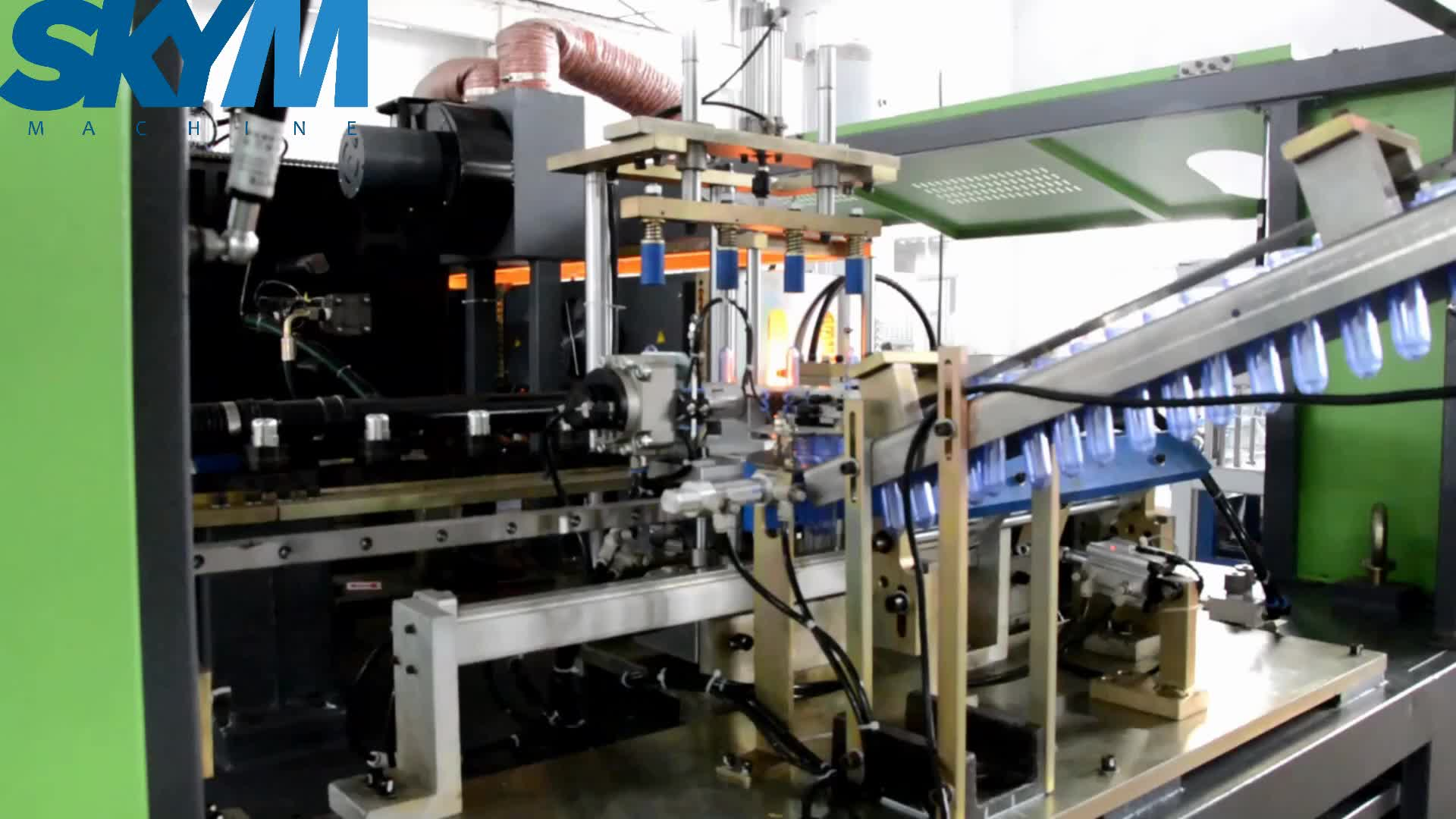 2018 New high output automatic plastic bottle making machine price