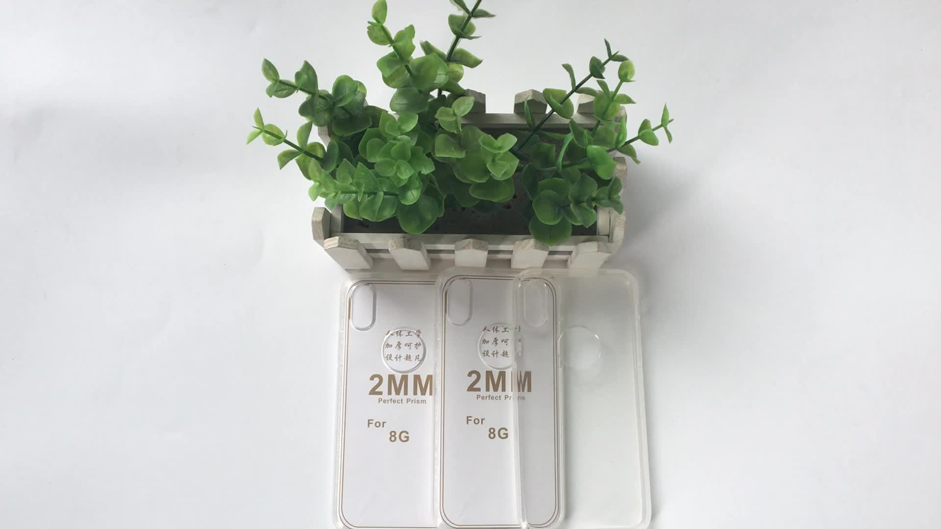 2MM Simplicity Clear Transparent TPU Phone Cover Case For iPhone X,For iPhone7 Mobile Phone Case,For iPhone X 8 Plus TPU Case