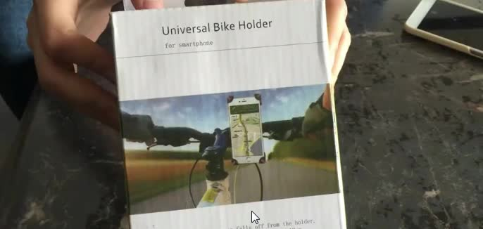 Bicycle Accessories Handlebar Clip Mount Bracket Mobile Phone Bike Holder Stand For iPhone 4 4S 5 5s 6 6s plus For Samsung