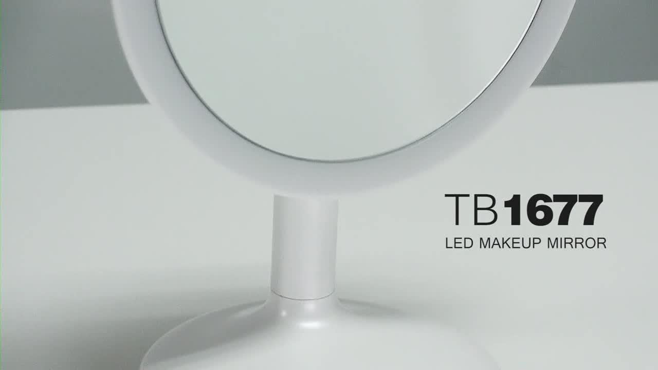 Touchbeauty Hot Table Stand Makeup Led Lighted Mirror With