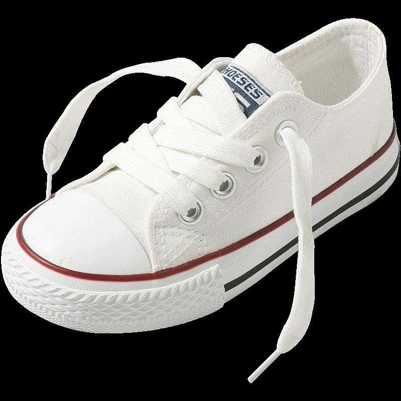 儿童帆布鞋女童鞋子2020春秋新款小白鞋男童板鞋宝宝布鞋小童百搭