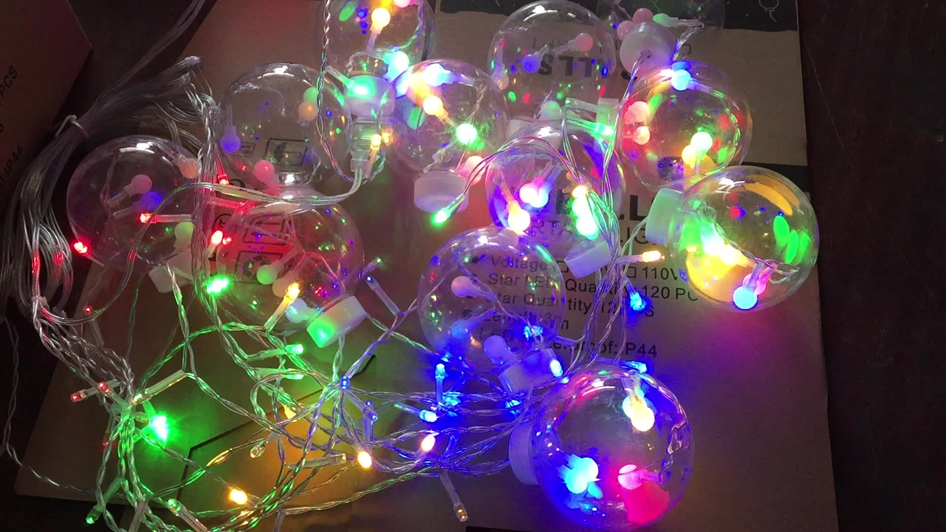 Colorful Christmas.110v 220v Colorful Christmas Decoration Led Fairy Light Bulb 12 Balls Curtain Light 120l Star Light With 8 Functions Buy Diy Decoration Light Led