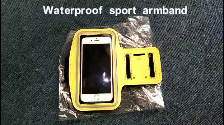 Summer Waterproof Sport armband Running Jogging Gym Armband Case holder For iphone 5 6S 7 8 armband for iphone 8