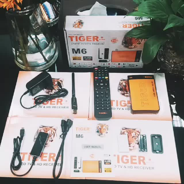 2017 Best Selling Products Tiger M6 Full HD DVB S2 Free to Air Arabic IPTV Set Top Box