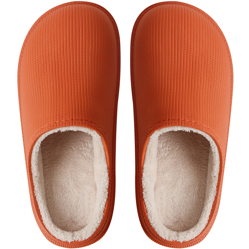 优调防水秋冬季棉拖鞋女室内外穿值得买吗