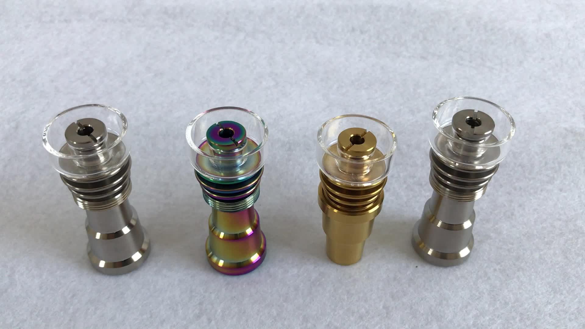 10mm14mm18mm Gr2 titanium nails