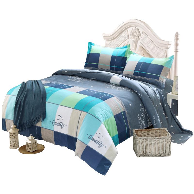 天魅床上全棉四件套1.8米纯棉被套用后反馈