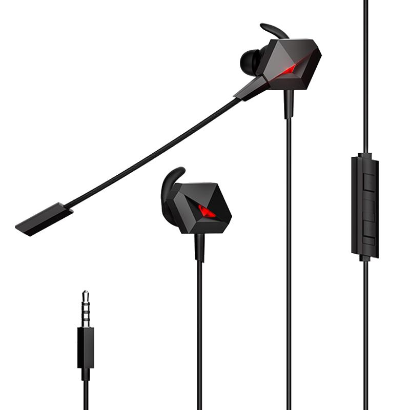 钛度taidu THS108暗鸦M 入耳式耳机电脑手机电竞游戏音乐通用耳麦