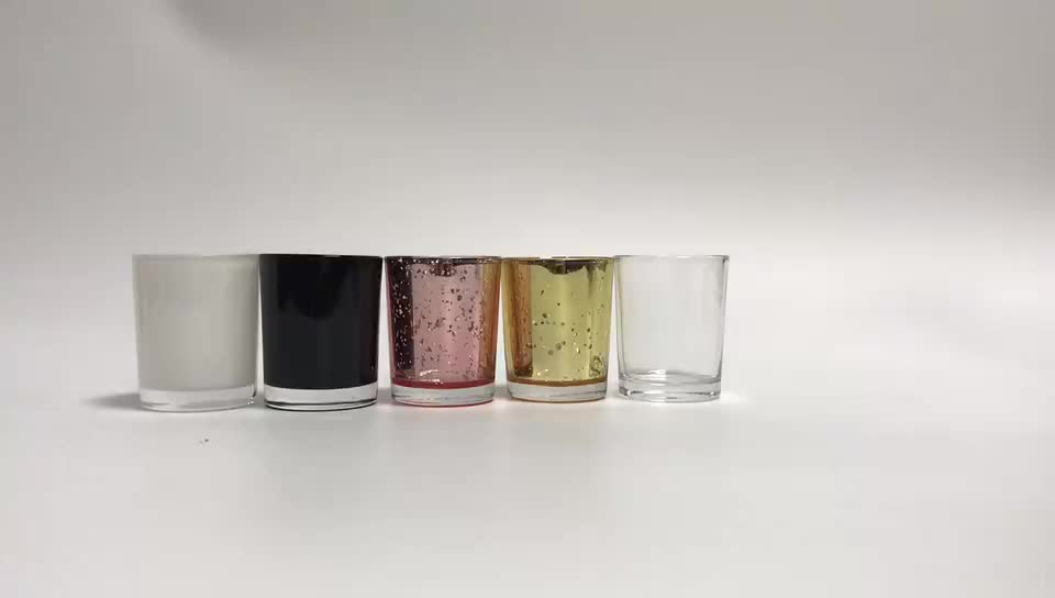 bulk mercury glass votive candle holder