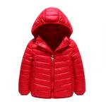 领10元券购买新款秋冬季儿童中大童羽绒轻薄棉衣