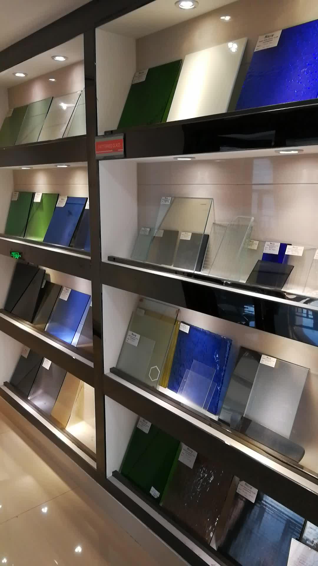 Transparente de vidrio de Panel Solar