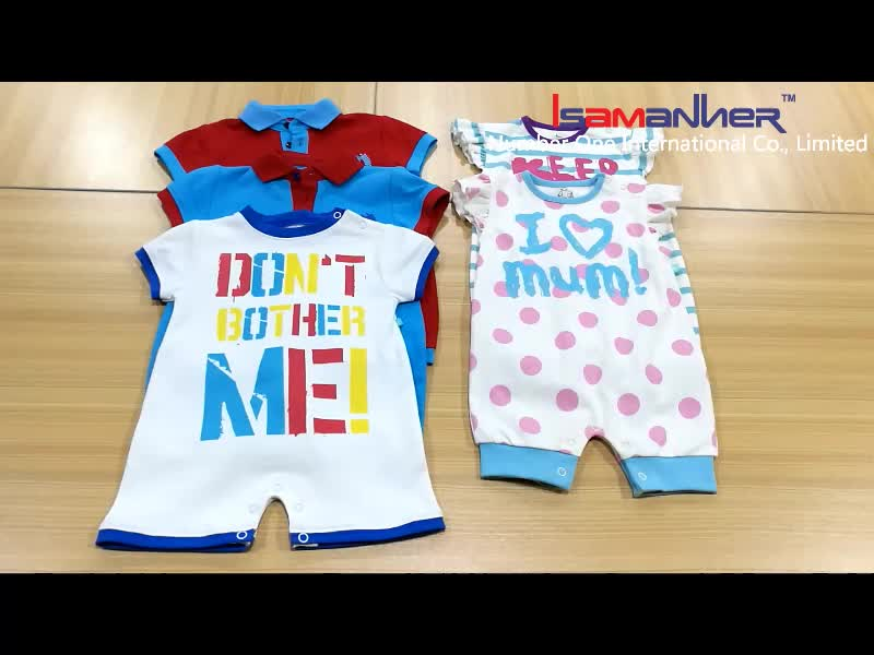 Wholesale lovely baby clothing newborn rompers baby girls