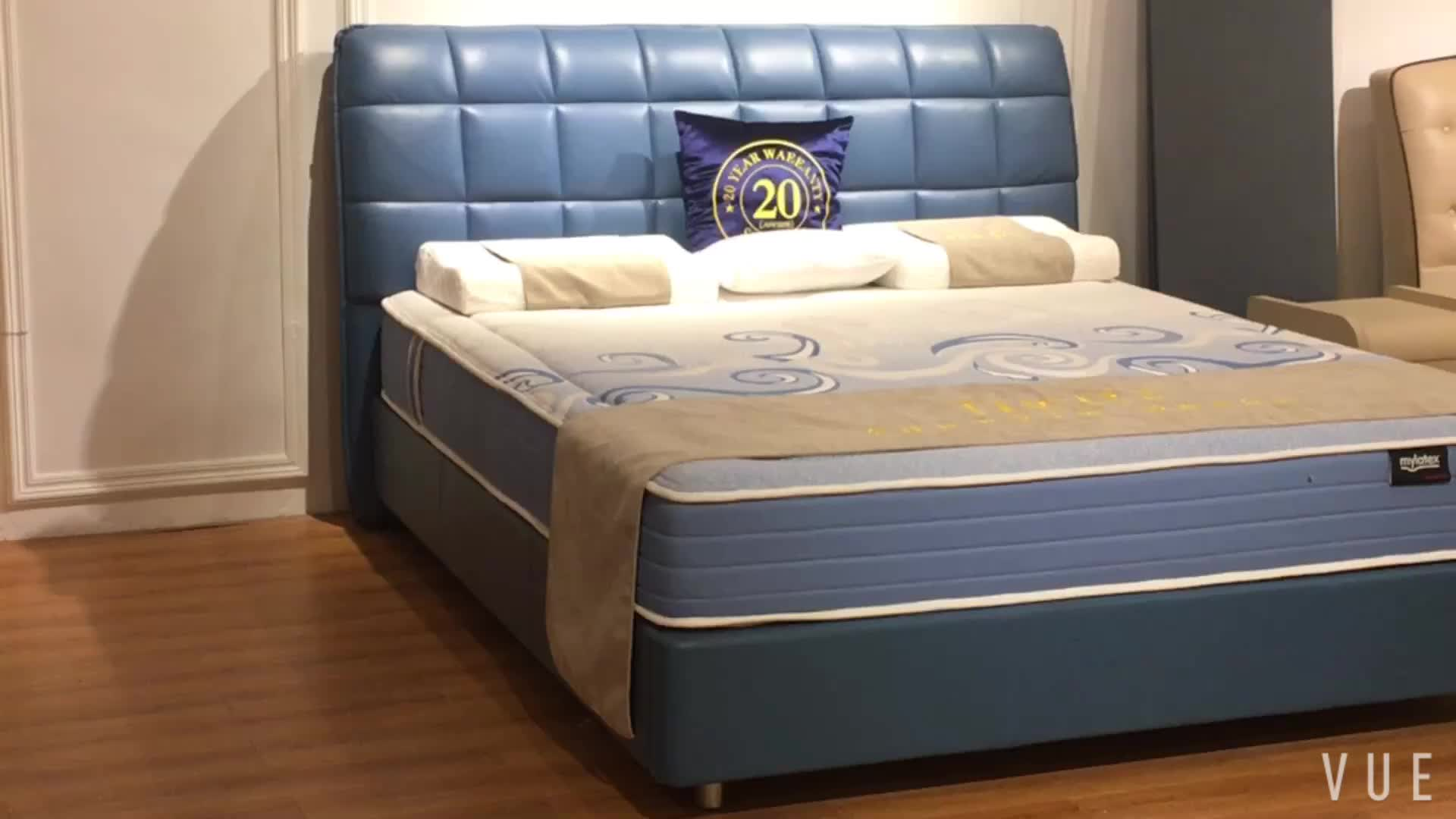 Cheap price leather bed frame with storage for bedroom set - Cheapest place to buy bedroom sets ...