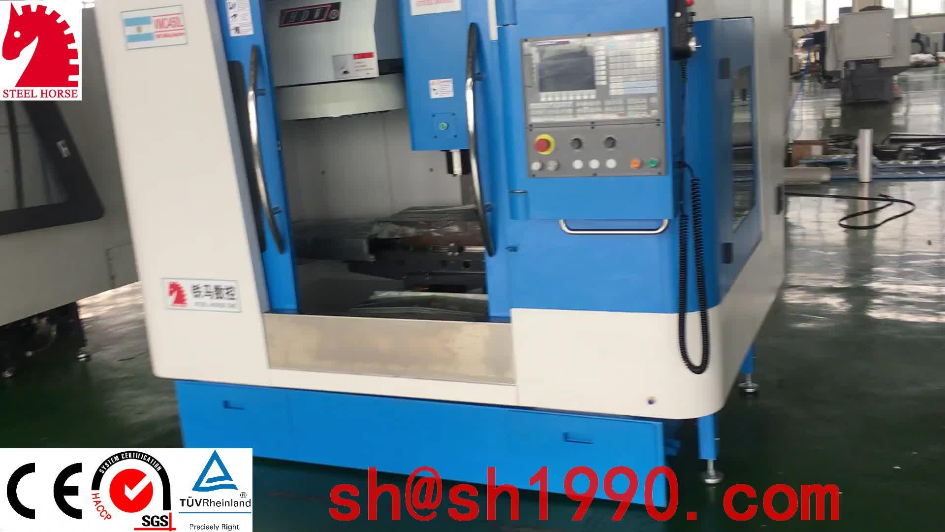 Alta calidad M400 pequeño metal fresadora cnc